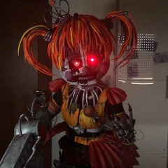 """Gaia Spaziani on Instagram: """"Here's another video of my Scrap Baby! This weekend i will be at @tusciacomix_ with @the_individualistcosplay!  #fnaf ..."""