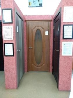 Стеклянные двери для душевой ниши в Томске