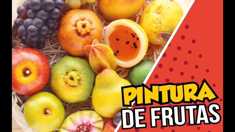 Pintura de Frutas em Sabonete Peter Paiva
