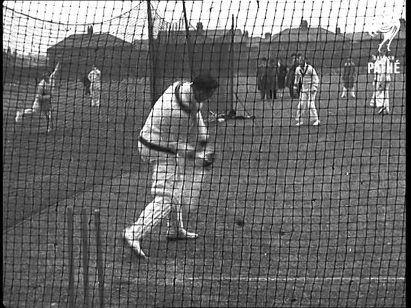 Lancashire Cricket Team In Training - Old Trafford (1938)