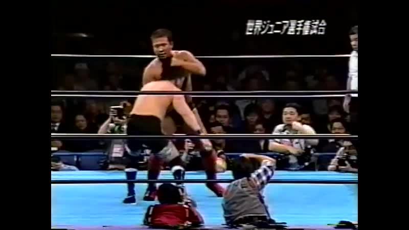2000.02.17 - Yoshinari Ogawa [c] vs. Daisuke Ikeda [JIP]