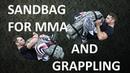 Силовая подготовка бойца ММА. How to train with sandbag to the fighter of mma Monko