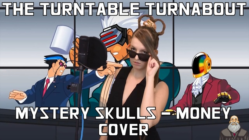 Mystery Skulls Money The Turntable Turnabout Cover