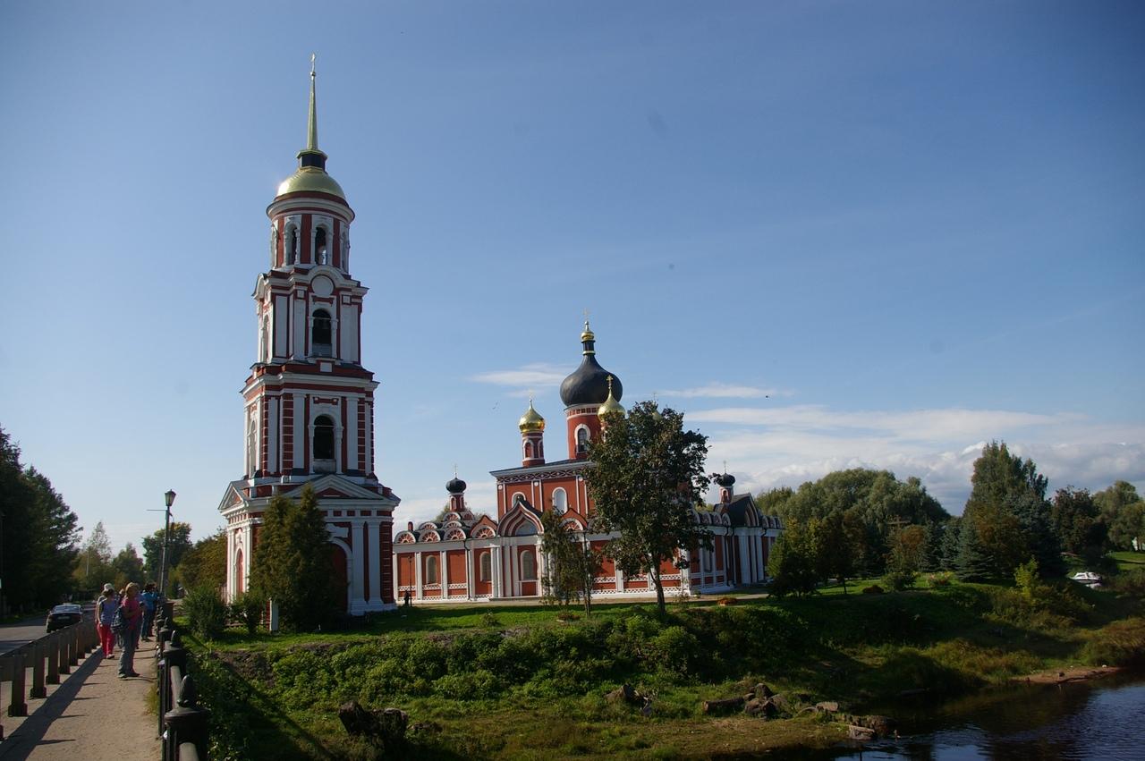 Последний день лета в Новгородской области. Старая Русса - самый чистый город.