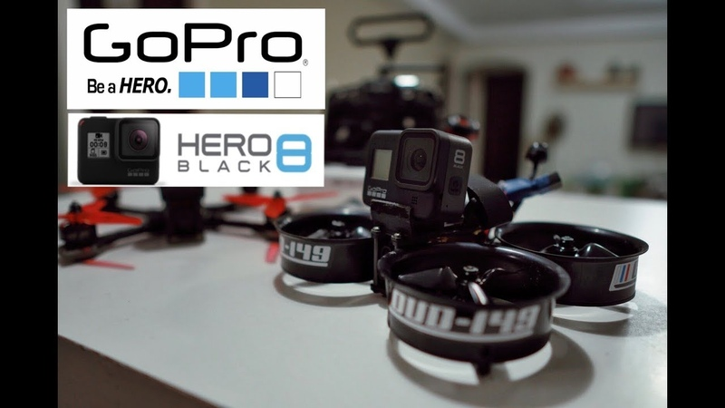 GoPro Hero 8 Black на Reptile CLOUD-149, автор MANOLET.