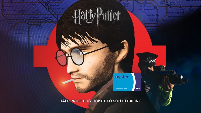 Harry Potter and the half price bus ticket to South Ealing