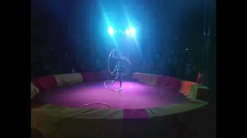 Түркістан жарнама_Шапито цирк қойылымына шақырады.