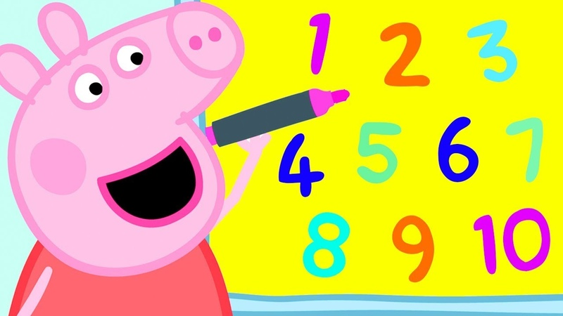Peppa Pig Official Channel Learn Numbers with Peppa Pig and Friends