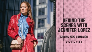 Behind the Scenes with Jennifer Lopez | Coach Spring 2020 in New York