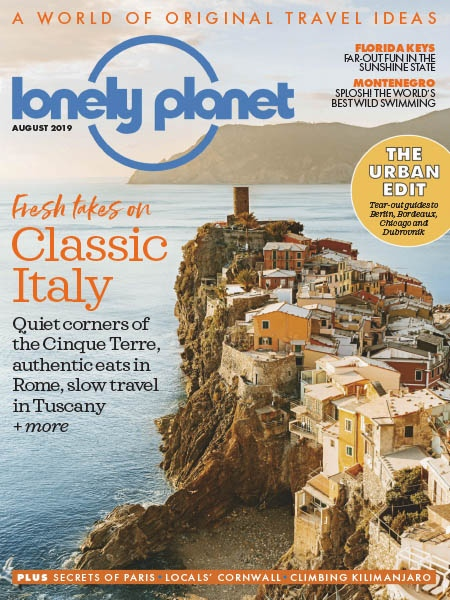 Lonely Planet Traveller UK 08.2019