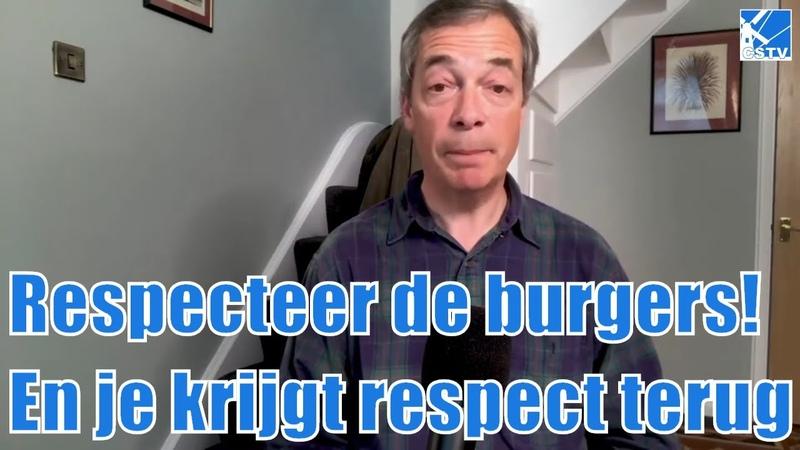 Nigel Farage Corona Stop huisarrest Stop 5G Huawei