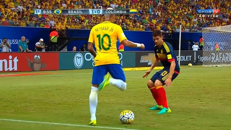 Neymar vs Colombia Home (07092016) HD 1080i