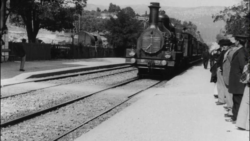L'Arrivée d'un train à La Ciotat Louis Lumière 1896