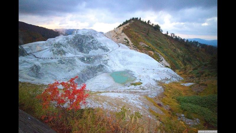 JG 4K HDR 秋田 湯沢の地熱地域 小安峡/河原毛地獄/秋ノ宮 Yuzawa Geothermal Area,Akita