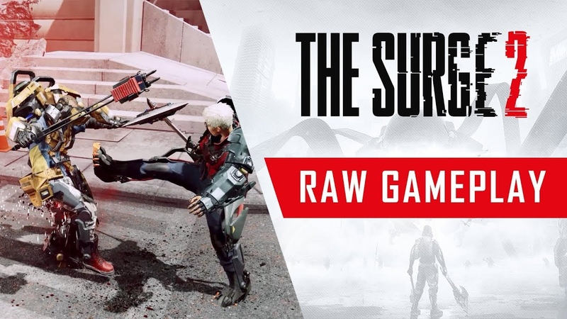 The Surge 2 Raw Gameplay Footage