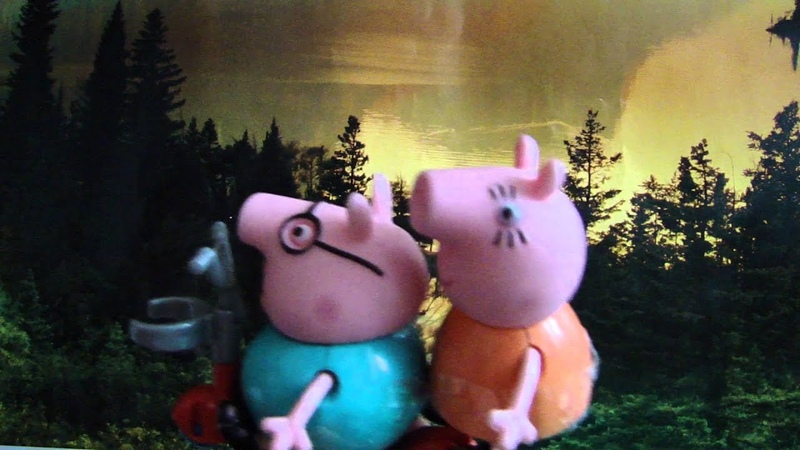 История знакомства мама Свинки и папы Свина