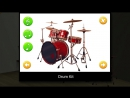 Musical instruments for kids _ English Baby vocabulary _ Learn names and sounds musical instruments