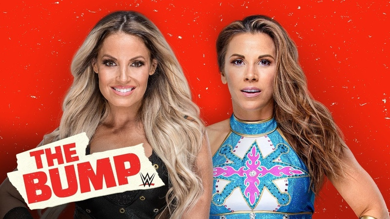 My1 Trish Stratus and Mickie James reunite WWE's The Bump Sept 16 2020