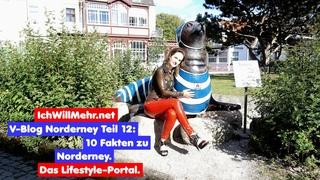 V-Blog 12 Norderney mit Lena: 10 Insel-Fakten.