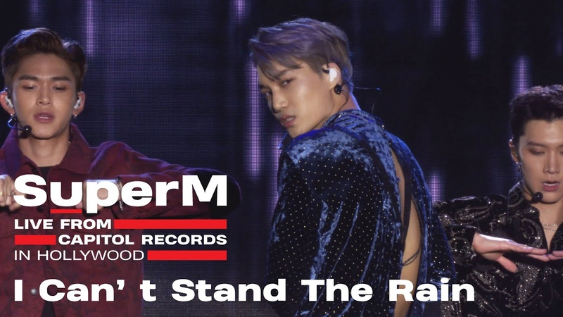[4K] SuperM 슈퍼엠 'I Can't Stand The Rain' @Live From Capitol Records in Hollywood