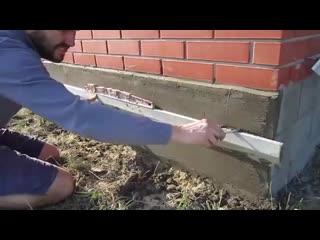 Загородный дом -отделка цоколя - Строим дом своими руками