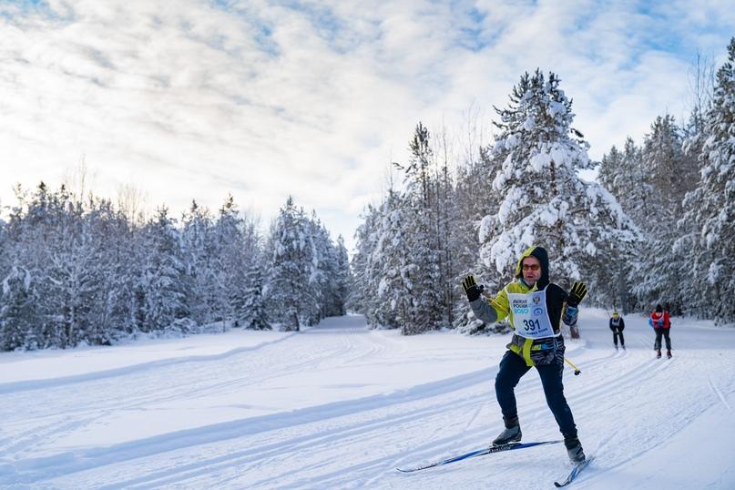 Лыжня России 2020: спортивная Ухта не боится морозов, изображение №6
