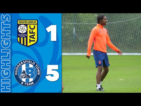 ⚽️ HIGHLIGHTS TADCASTER ALBION 1 5 HUDDERSFIELD TOWN B