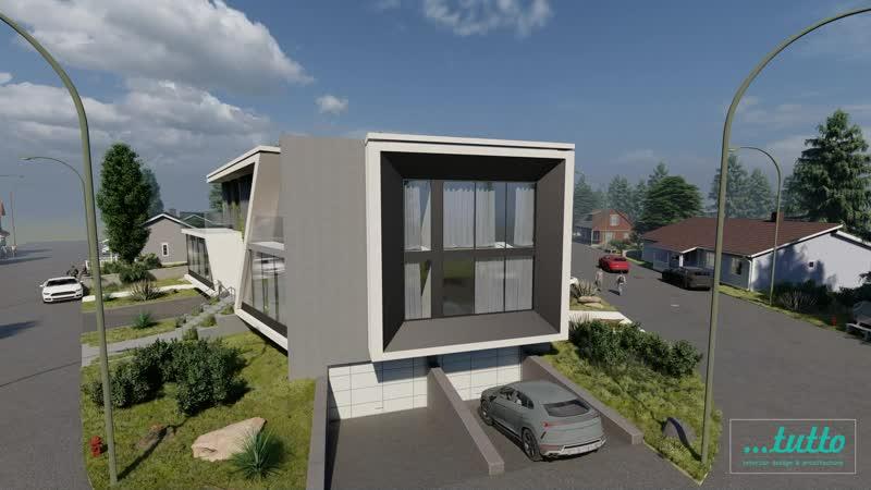 Aвторский проект жилого дома