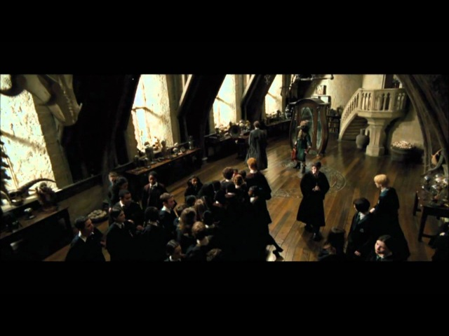 Harry Potter and the Prisoner of Azkaban Remus Lupin's boggart class HD