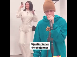 Sweetheart support🧡kylie jenner и justin bieber