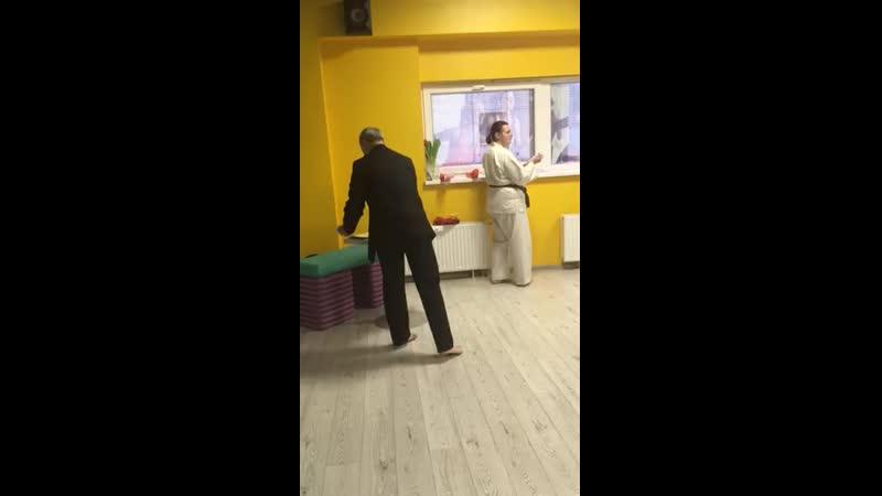 Вручение желтого пояса Карате Шотокан