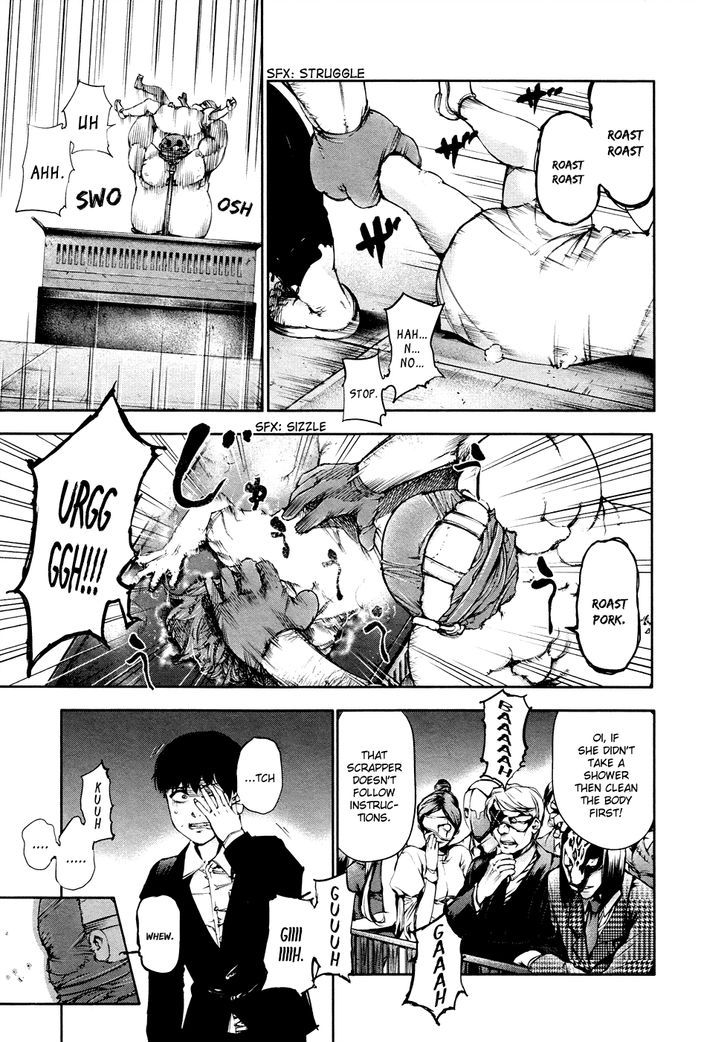Tokyo Ghoul, Vol.4 Chapter 38 Dismemberment, image #12