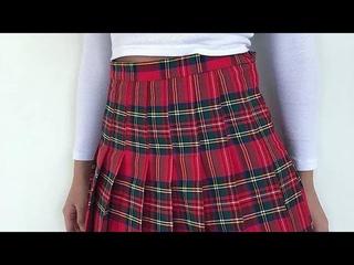 Retro High Waist Slim College Style Pleated Skirt 18/07/2021 21:30
