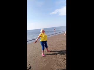 Июньский жаркий zumba open air) ягры) побережье белого моря) 08.06.2019))