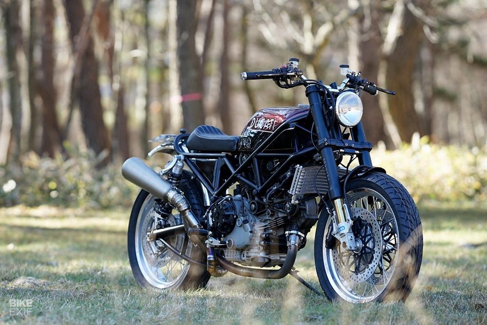 46Works: кастом Ducati Multistrada