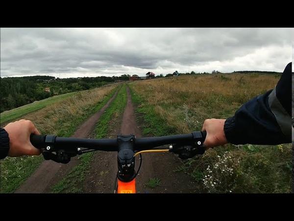 Порог Ревун на велосипеде