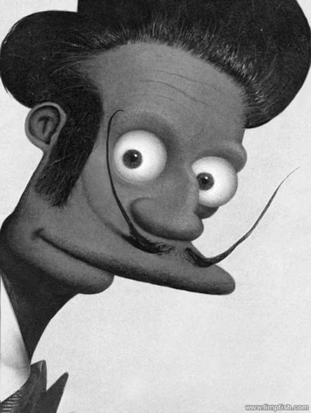 Портреты Дарта Вейдера, Гомера, Бэтмена и других, если бы их рисовали великие классики.