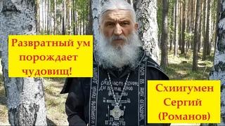 ⚡ Схиигумен Сергий (Романов) - Развратный ум порождает чудовищ!