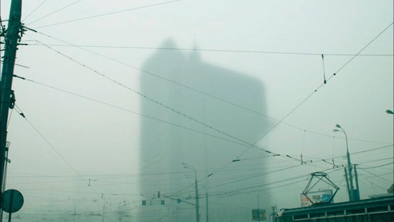 В режиме черного неба красноярцы задыхаются от смога