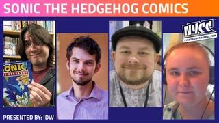 Sonic the Hedgehog comics   IDW Presents