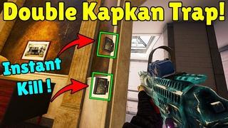 Placing *TWO* Kapkan Traps On The SAME Door ! - Rainbow Six Siege