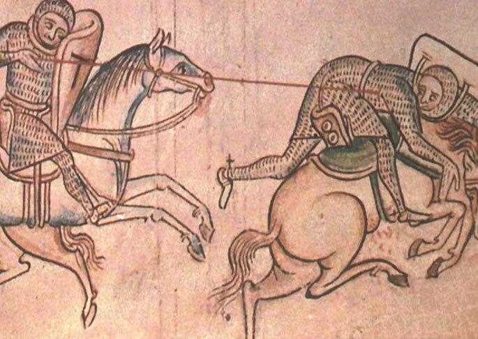 Атака рыцаря
