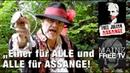 EINER FÜR ALLE und ALLE für EINEN FREE JULIAN ASSANGE Mainz FREE TV