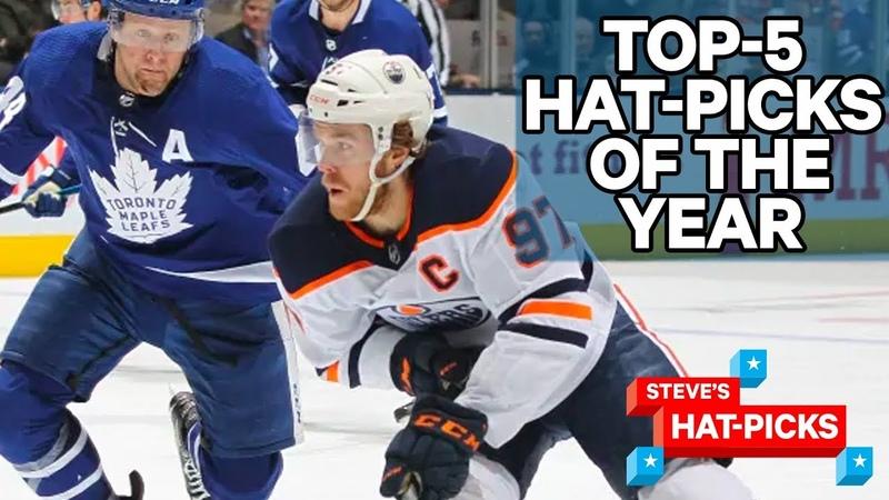 Top 5 Hat Picks Of The 2019 20 NHL Season Steve's Hat Picks