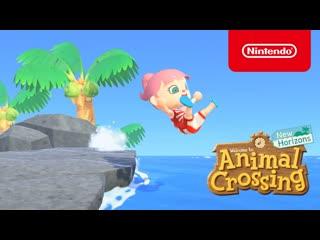 Летнее обновление для Animal Crossing: New Horizons - (Nintendo Switch)