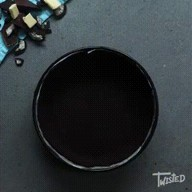 id_48449 Шоколадный мраморный чизкейк 🍰  Автор: twisted  #gif@bon