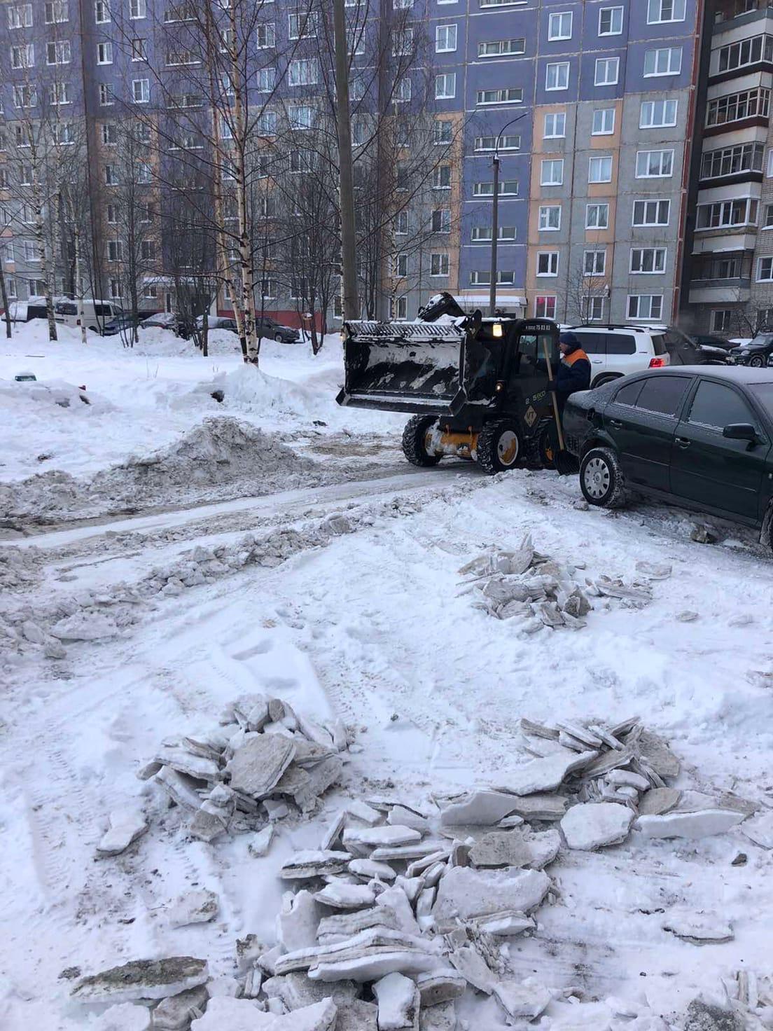 Улица Ульяновская дом 8 механизированная уборка