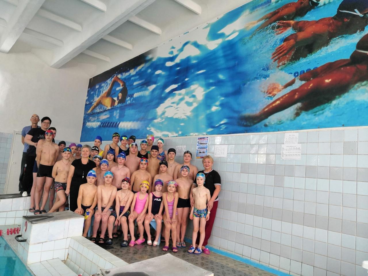В бассейне «Дельфин» прошли спортивные соревнования
