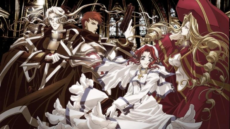 аниме 2005 Кровь триединства 13 24 из 24 Trinity Blood все серии