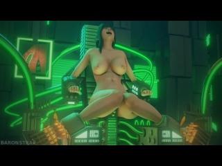 Tifa in the Machine Tickled Alt WM 1080p